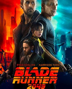 locandina ufficiale di blade runner 2049 - nerdface