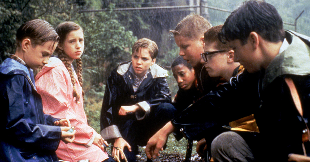 i perdenti sono bagnati e avviliti nell'originale film per la televisione del 1990 - nerdface