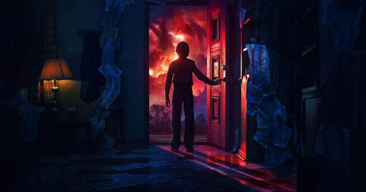 will apre la porta di casa, la notte, è fuori c'è il sottosopra - nerdface