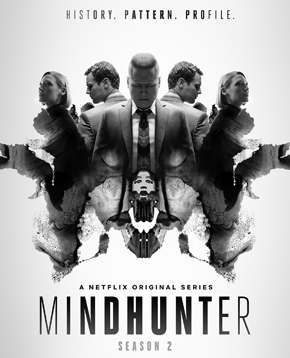 la locandina ufficiale di mindhunter 2 - nerdface