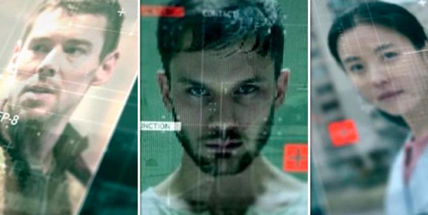 tre volti, due uomini e una donna, appaiono su uno schermo: forse tre agenti dormienti? - Nerdface