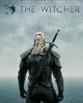 locandina ufficiale di the witcher, la serie tv - nerdface