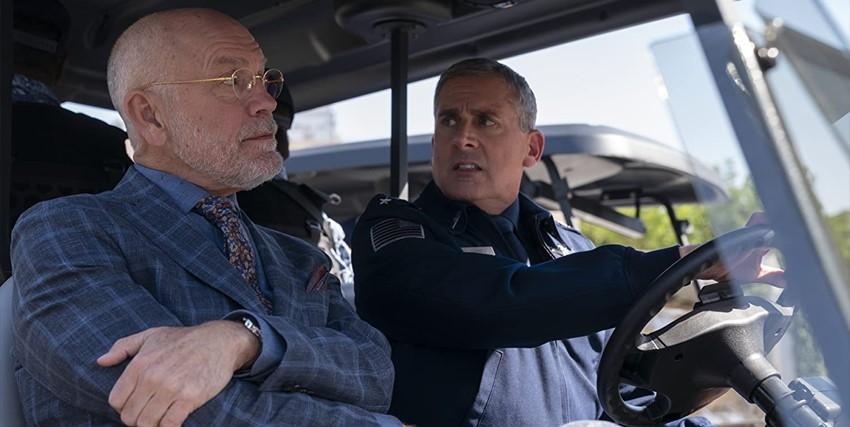 steve carell è in una caddy insieme a john malkovich - nerdface