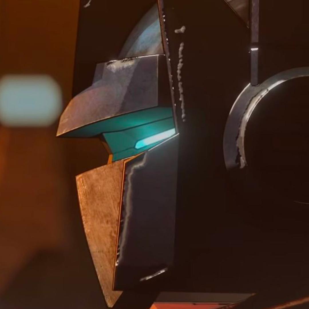un profilo in primo piano di optimus prime, il nostro commander - nerdface