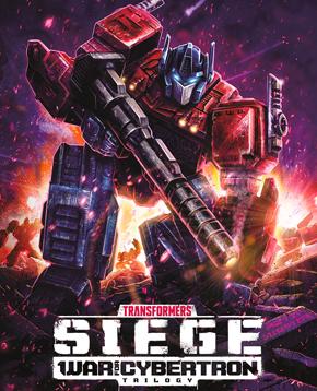 locandina ufficiale di transformers war for cybertron siege - nerdface