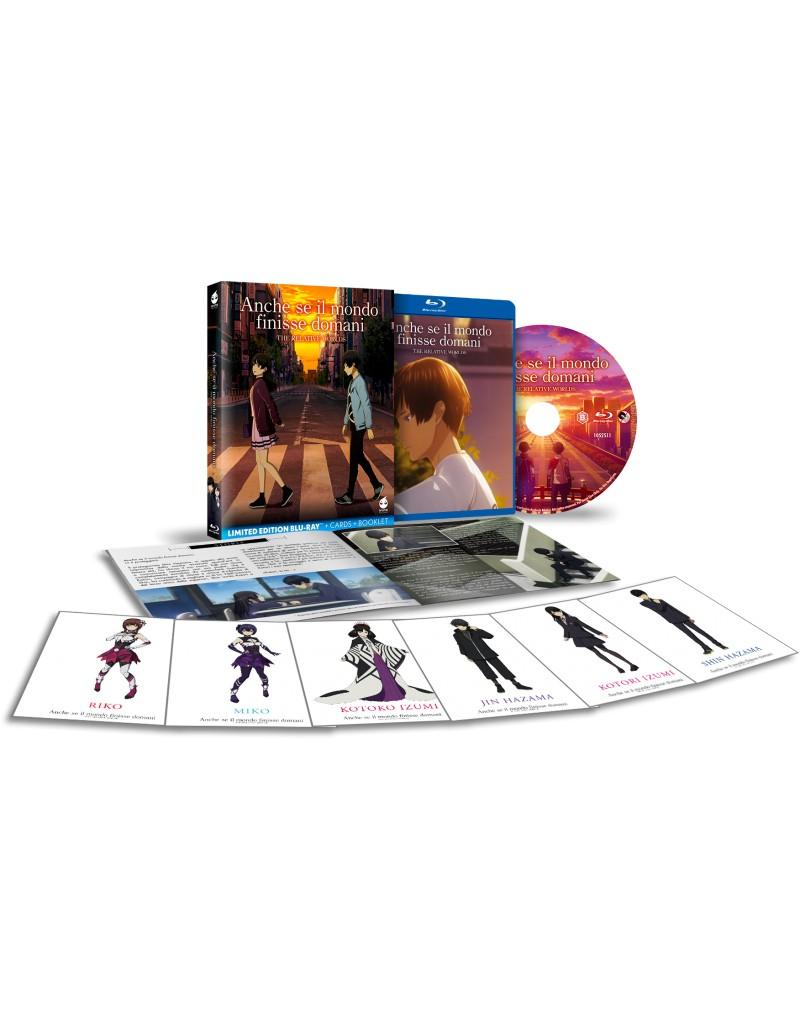cover del packaging del blu-ray in limited edition dell'anime anche se il mondo finisse domani