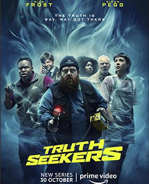 locandina ufficiale di truth seekers - nerdface