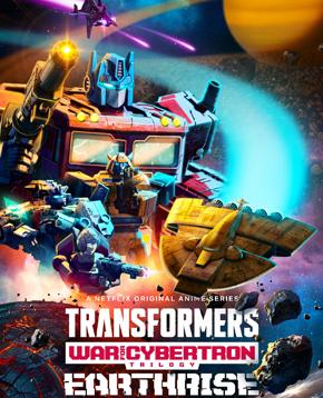 la locandina ufficiale di Transformers War for Cybertron Earthrise - nerdface