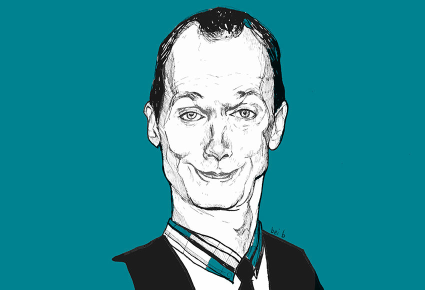 Illustrazione di Doug Jones - nerdface
