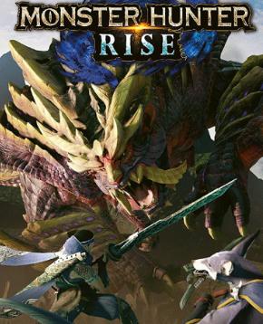 copertina ufficiale del videogioco monster hunter rise - nerdface