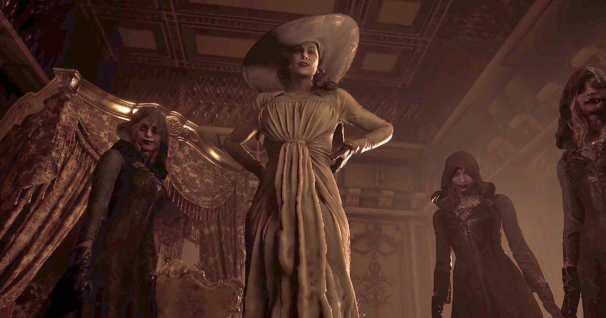 Le quattro antagoniste del videogioco resident evil village - nerdface