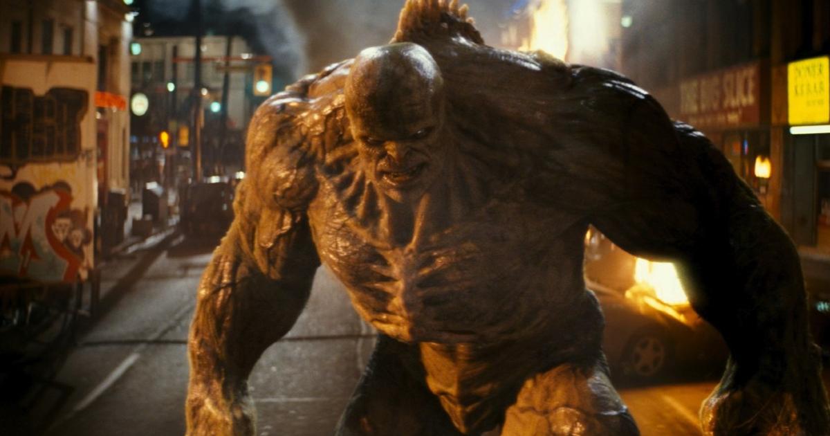 Il mostro nemico di Hulk in L'Incredibile Hulk - nerdface