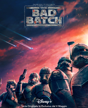locandina ufficiale di star wars the bad batch - nerdface