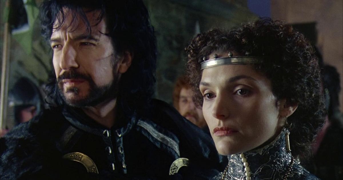nerdface nerd origins robin hood il principe dei ladri alan rickman mary elizabeth mastrantonio