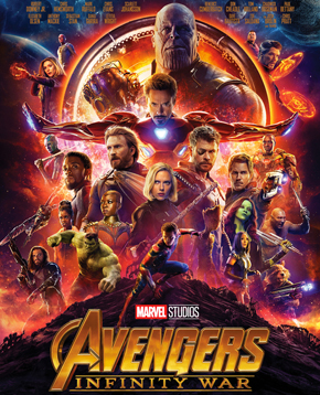 nerdface recensione Avengers: Infinity War poster