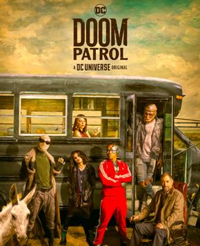 nerdface recensione doom patrol poster