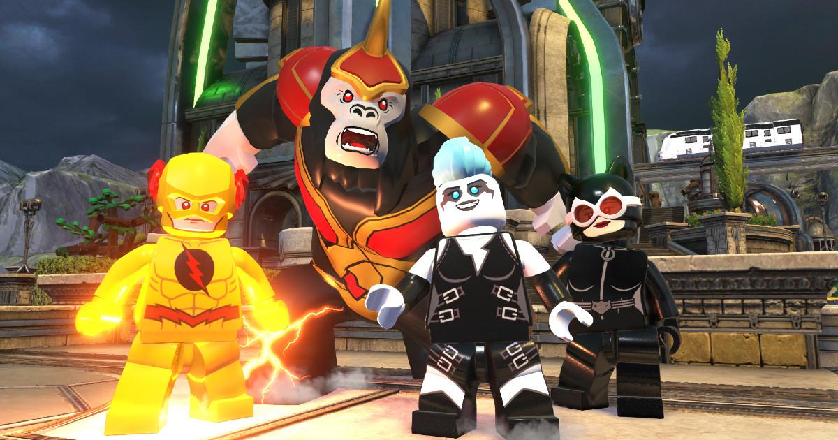 quattro dei temibili villains di Lego DC Super-villains - nerdface