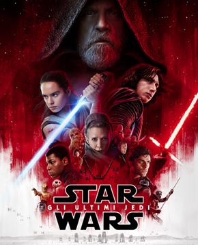 nerdface recensione Star Wars: gli Ultimi Jedi poster