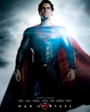locandina ufficiale del film Man of Steel - nerdface