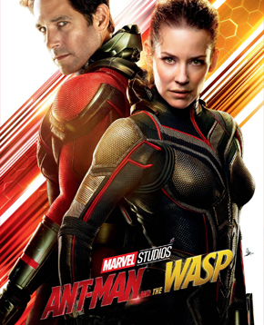 nerdface recensione Ant-Man and the Wasp poster