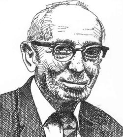 Edmond Hamilton ritratto in un primo piano - nerdface