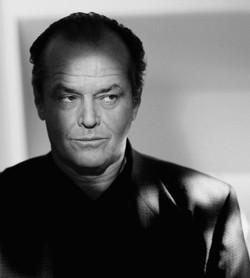 Primo piano di Jack Nicholson - nerdface