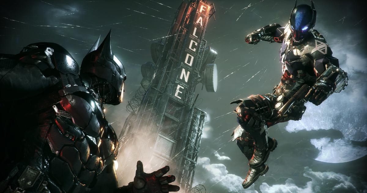 Batman fronteggia il proprio avversario - nerdface