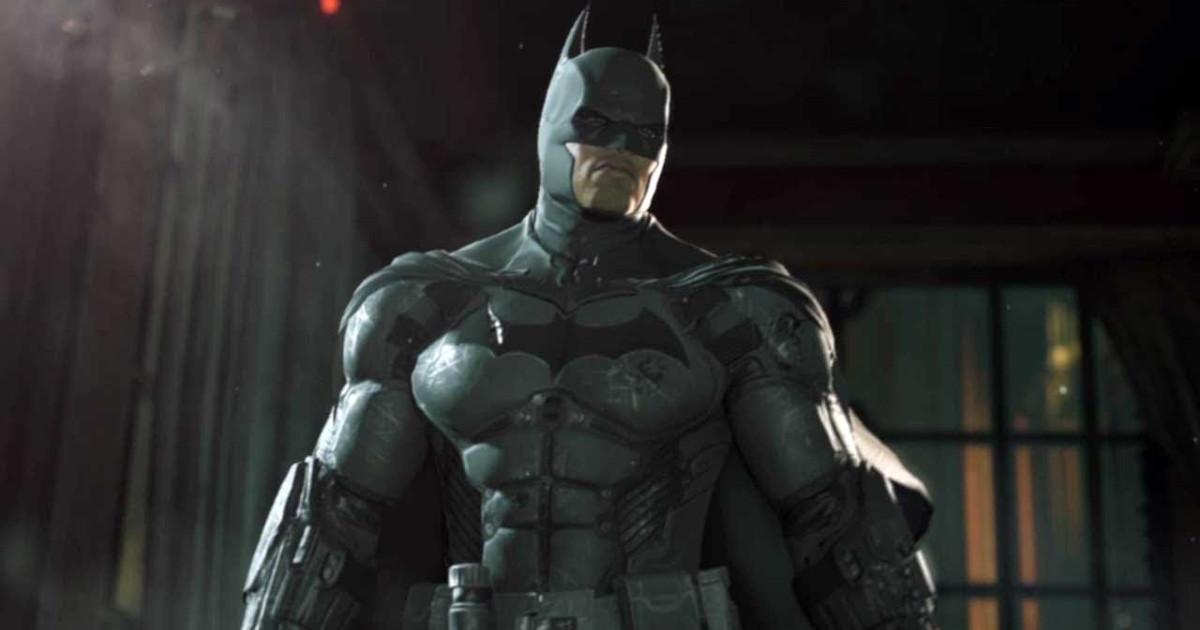 Batman in primo piano - nerdface