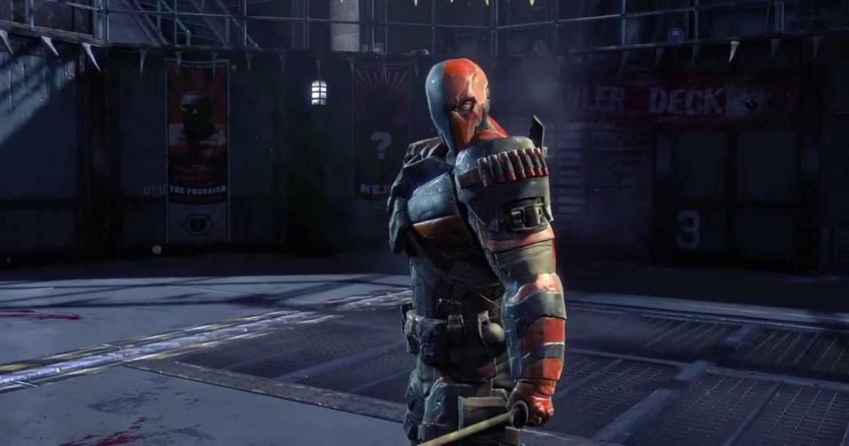 In primo piano l'antagonista di Batman nel videogame Arkham Origins - nerdface