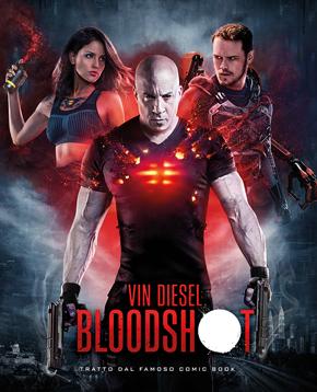 poster del film Bloodshot - nerdface