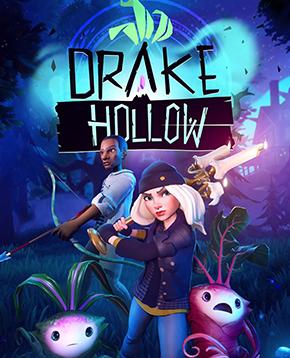 Copertina ufficiale del videogioco Drake Hollow - nerdface
