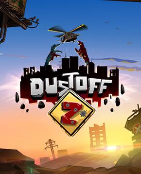 Copertina ufficiale del videogioco Dustoff Z - nerdface