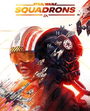 Copertina ufficiale di Star Wars Squadrons - nerdface