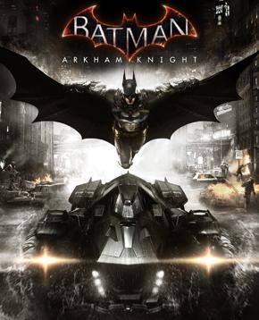 copertina ufficiale Batman Arkham Knight