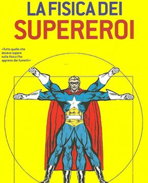 copertina de La Fisica dei Supereroi - nerdface