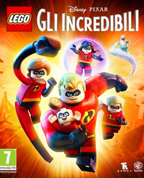 copertina ufficiale del videogioco lego gli incredibili - nerdface