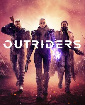 copertina ufficiale del videogioco Outriders - nerdface