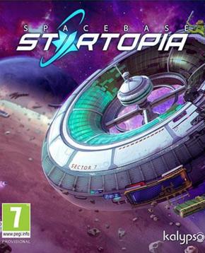 Copertina ufficiale del videogioco Spacebase Startopia - nerdface