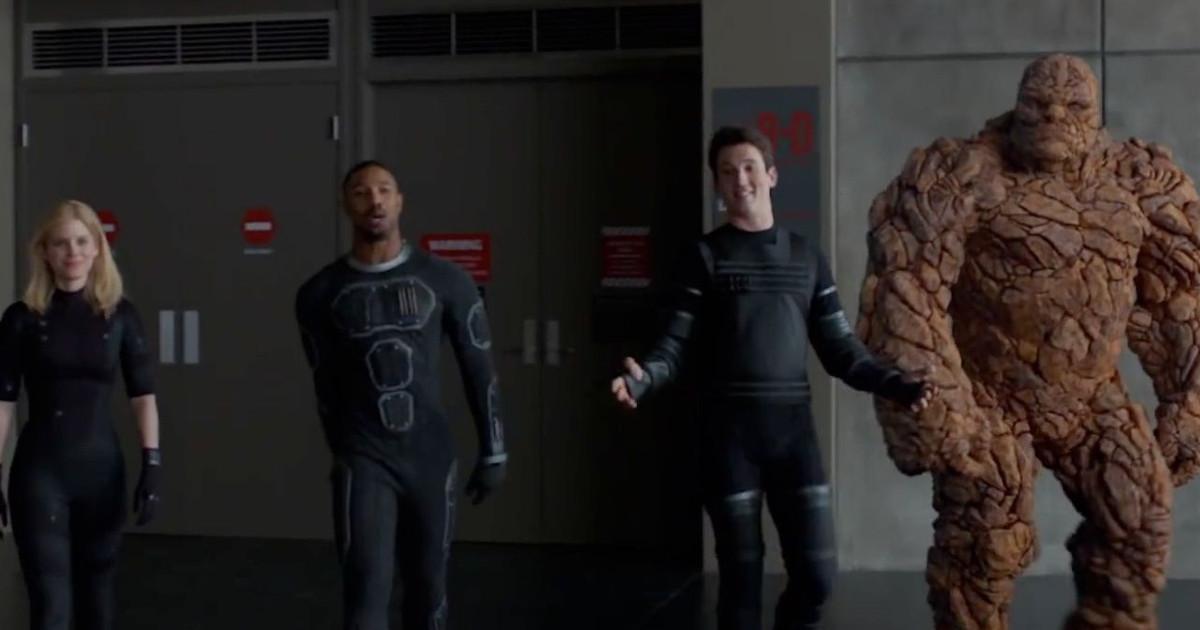 I Fantastici 4 schierati nel film Fantastic Four del 2015 - nerdface