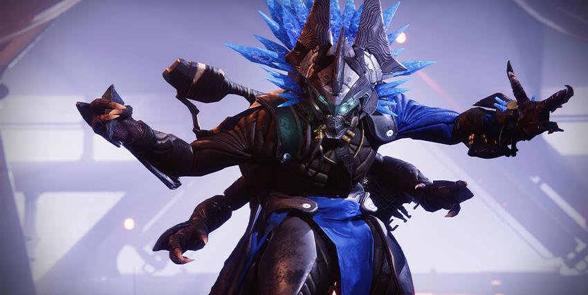 un nemico del DLC di Destiny 2 Oltre la Luce - nerdface