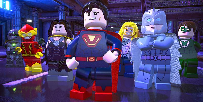 Il gruppo dei falsi eroi di Lego DC Super-villains - nerdface