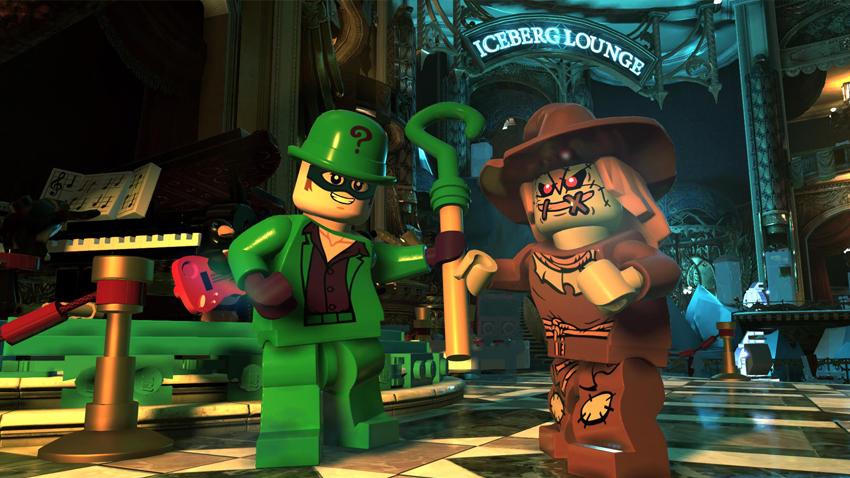Due dei temibili villains di Lego DC Super-villains - nerdface