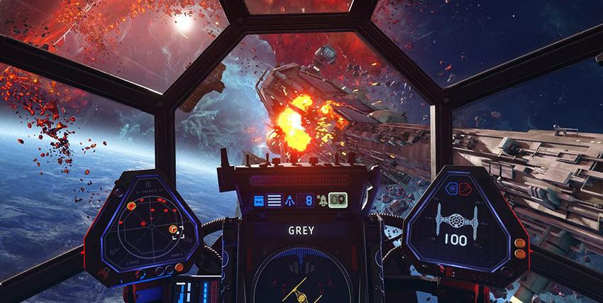 L'interno di una navicella spaziale in Star Wars Squadrons - nerdface