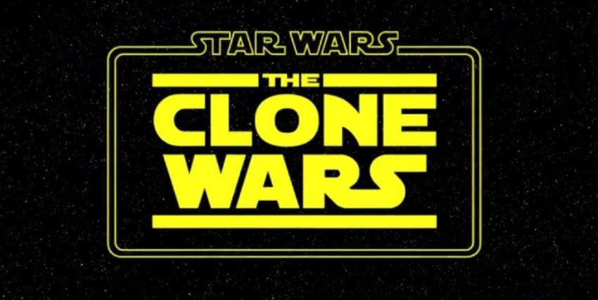 il classico logo di star wars the clone wars - nerdface