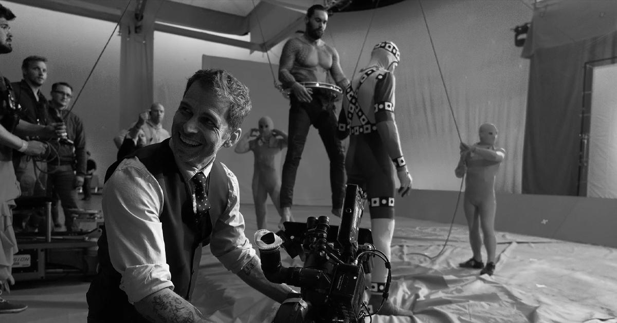 Una scena di Aquaman durante il set della Justice League - nerdface