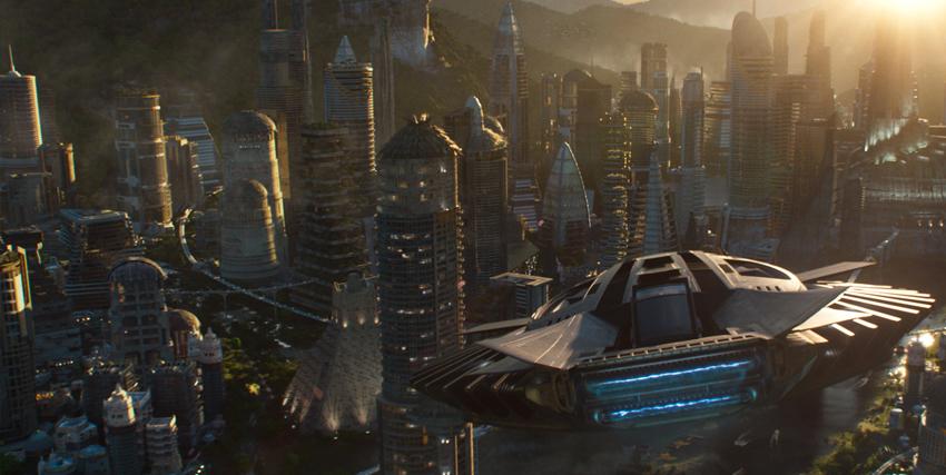 Una città futuristica - nerdface
