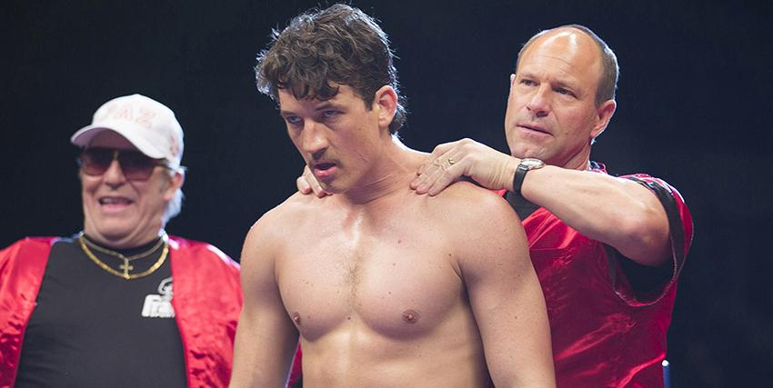 vinny paz è concentrato e determinato mentre è sul ring, mentre il coach gli massaggia il collo - nerdface
