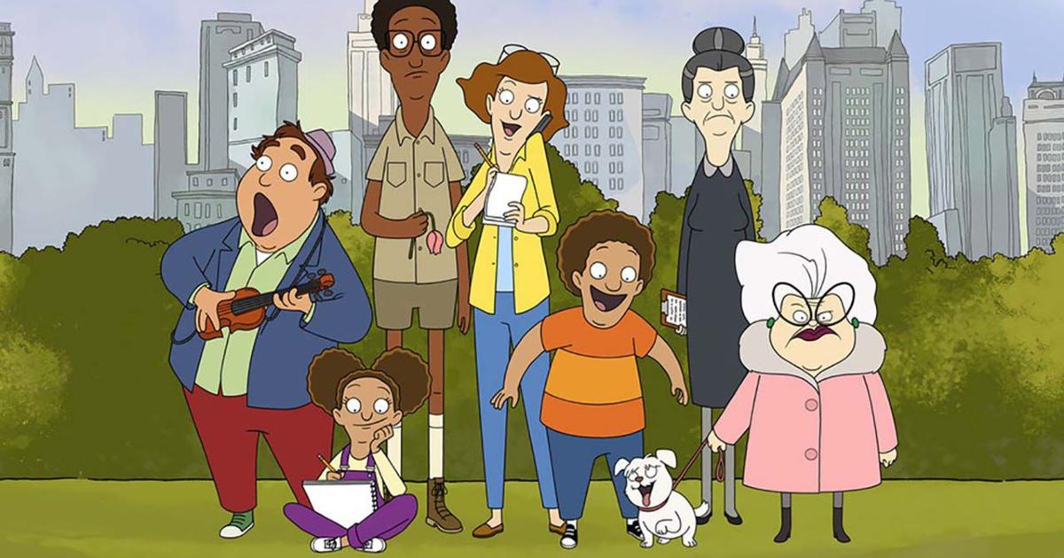 la famiglia al completo canta a central park - nerdface