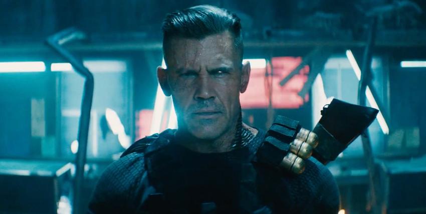 Primo piano di Josh Brolin in Deadpool 2 - nerdface