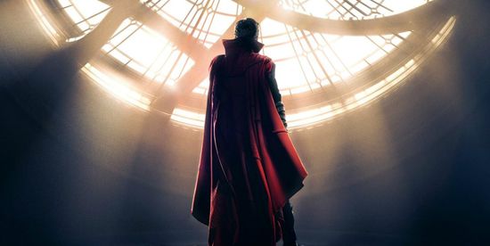 Doctor Strange di spalle - nerdface